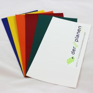 kostenlose PVC-Plane Farbmuster