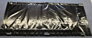Leichensack/Bergungssack aus PVC L-förmiger Reißverschluss