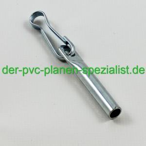 Seilendverschluss mit Simplexhaken verzinkt 6 mm